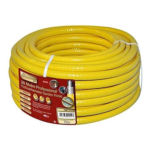 Kingfisher 730 30 m Pro Gold Reinforced Garden Hose - Yellow