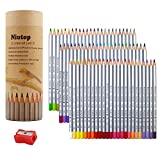 NIUTOP 72 Colored Pencils, Marco Raffine fine art Drawing Pencils For Artist Sketch / Adult Coloring Books/Secret Garden Coloring Book