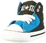 CONVERSE  Unisex Baby Chuck Taylor First Star Street High Lauflernschuhe - Mehrfarbig (Black/Soar/White) , 17 EU