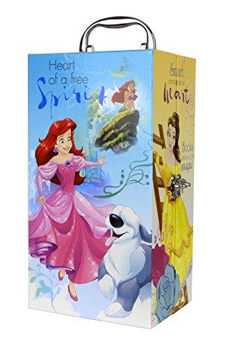 Markwins Zauberhafter Disney-Prinzessinnen-Kleiderschrank mit Beauty-Set, 1er Pack (abziehbarer...