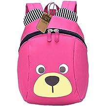 bb7c7ec2f1 Zaino per bambini TEAMEN Anti Verloren zaino per bambini Mini Orsetto scuola  borsa per bambini ragazzi