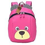 Kinderrucksack TEAMEN Anti verloren Kinder Rucksack Mini Bär Schule Tasche