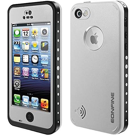 Coque Étanche pour iPhone 5C, EONFINE Coque Etanche/Anti-Choc/Anti-Neige/Pare-Poussière/Imperméable pour iPhone