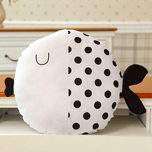 Kinder Kissen Spielzeug, outgeek Kissen Spielzeug Cute Cartoon Fisch Puppe Baumwolle Dekokissen Spielzeug