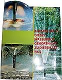Wasserfarm Garten Teich Springbrunnen Set Aufsatz Fontaenen: Farbe: Set2-FH3-5 5114