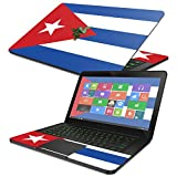 """MightySkins Skin For Razer Blade 14"""" (2014-2017) - Cuban Flag   Protective, Durable, and Unique Vinyl Decal wrap cover   Easy To Apply, Remove, and Change Styles   Made in the USA"""
