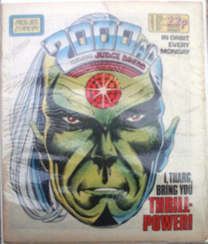 2000AD Prog. 365 21st April 1984