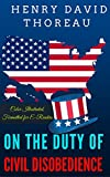 Image de On the Duty of Civil Disobedience: Color Illustrated, Formatted for E-Readers (Unabridged Version) (English Edition)