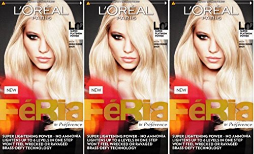 loreal-feria-hair-colour-l02-super-platinum-power-x-3-packs