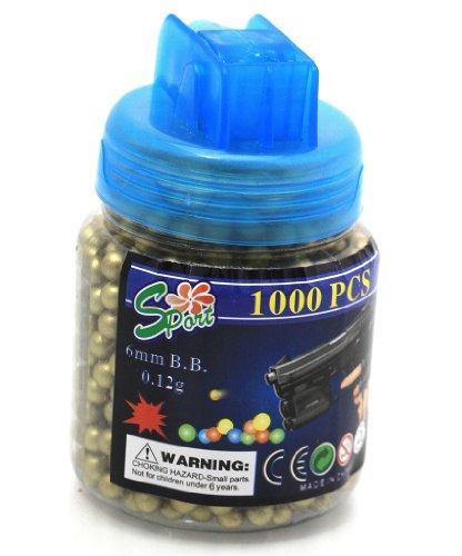 Oramics Sport Zielsichere Munition 1000er Flasche Gold 6 mm Softair Kugeln zu Oramics Sport