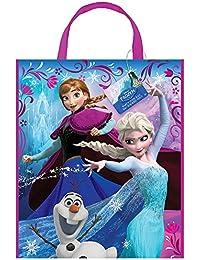 Grand sac en plastique Parti Disney Frozen, 33x 27,9cm