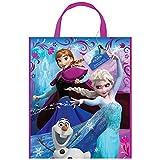 """Unique Party 45050 - Large Plastic Disney Frozen Party Bag, 13"""" x 11"""""""