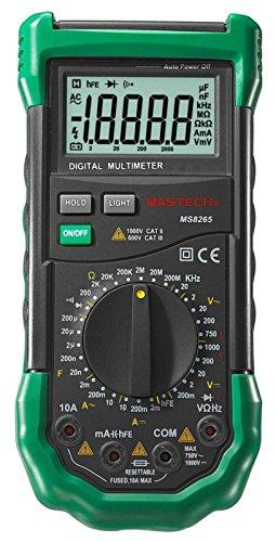 Mastech MS8265 Scharfes Digital Multimeter 20000 Counts Fehlbedienungswarnung