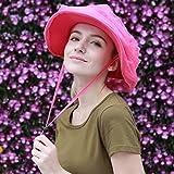 LER UV Sonnenblende Visier Abdeckung Gesicht Sonnenschutz Hut faltbare Sommer Outdoor Damen Sonnenhut,Rosa,Einheitsgröße