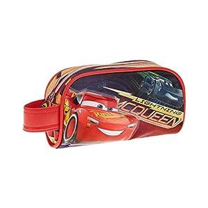 Cars 3 Estuche portatodo, Color Rojo, 20 cm (Karactermanía 32476)