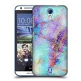 Head Case Designs Farben Marmor Glitzer Druecke Ruckseite Hülle für HTC Desire 620/620 Dual SIM