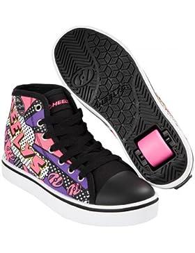 HEELYS Zapato VELOZ 2018 negro / blanco / rosa / cómic