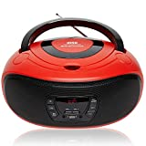 Grouptronics GTCD-501 Stereo BoomBox Portable CD Player Radio With USB, MP3 Player