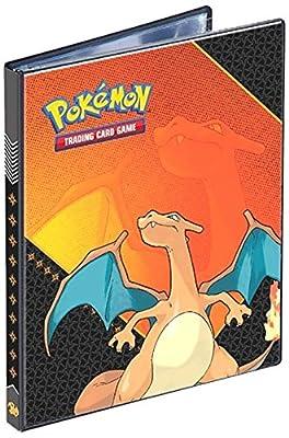 Pokémon - Album Ultra Pro 4-Pocket Portfolio Dracaufeu (10 pages de 4 cases : 80 cartes)