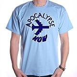 Old Skool Hooligans Inspired by Apocalypse Now Maglietta Milius Badge Blue XXL