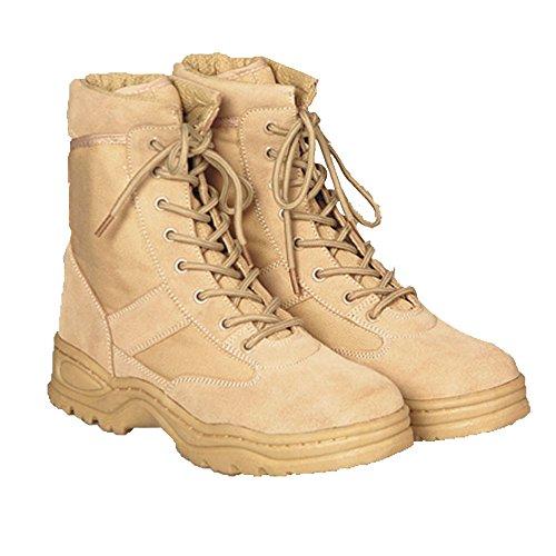 McAllister BW Einsatzstiefel Outdoor Boots Arbeitsschuhe Securitystiefel verschiedene Farben 37-47 (42, Beige)