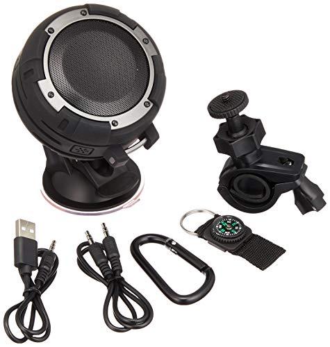 Enermax Bluetooth-Speaker O'Marine Schwarz/Silber (EAS03-BS) -