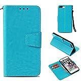 BoxTii Coque iPhone 7 Plus/iPhone 8 Plus, Etui Portefeuille, Anti-Rayures Coque en PU...