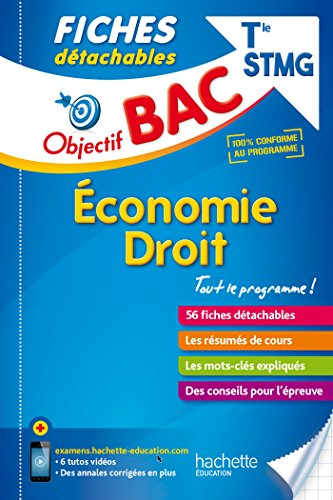 Objectif Bac Fiches Détachables Eco-Droit Term STMG