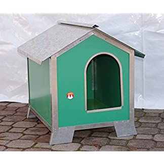 Dog Kennel Size Media-Piccola in Wood with Steel Profiles (Measures 58 x 43 x 58) Dog Kennel Size Media-Piccola in Wood with Steel Profiles (Measures 58 x 43 x 58) 51FG 2BPrIygL