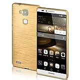 Huawei Mate 7 Hülle Silikon Gold [OneFlow Brushed