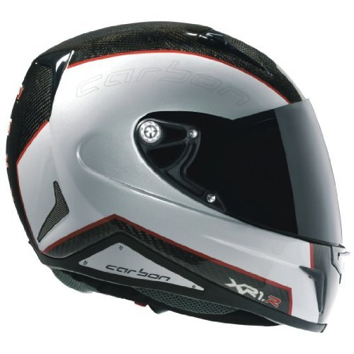 Preisvergleich Produktbild Nexx XR1R Full Face Helmet (Carbon White Red, XX-Large) by Nexx