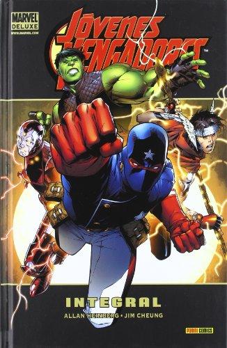 Portada del libro Jovenes vengadores - integral (Marvel Deluxe)