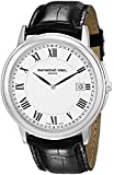 Raymond Weil Men's 54661-Stc-00300 Quartz Stainless Steel White Dial Watch