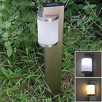 Blanc solaire en acier inoxydable participation Light Garden Eclairage Chemin (cis-57159)