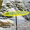 Sonnenfänger - Sun Dancer KREIS 200 gelb - wetterfest, lichtreflektierend - Acrylscheibe: Ø20cm - inkl. Kegelzapfen und Nylonschnur zum Hängen von Colours in Motion auf Du und dein Garten