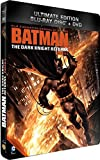 Batman : The Dark Knight Returns - Partie 2 - Combo Blu-Ray + DVD - Steelbook format Blu-Ray - Collection DC COMICS [Blu-ray] [Combo Blu-ray + DVD - Édition boîtier SteelBook]