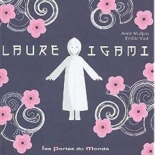 Laure Igami : Petite fille en papier plié