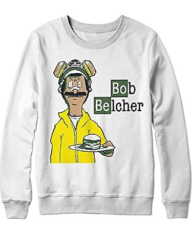 Sweatshirt Bob's Burgers Breaking Bad Mashup