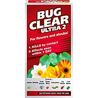 Scotts Miracle-Gro BugClear 119524 Ultra 2 Non-Neonic Insecticide Concentrate 200ML 8