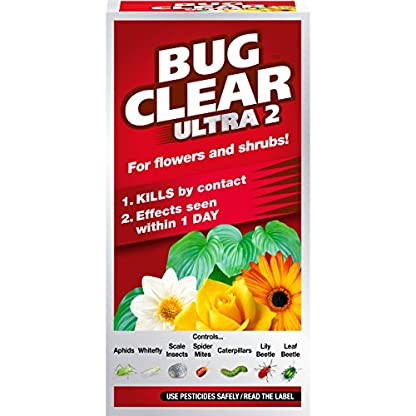 Scotts Miracle-Gro BugClear 119524 Ultra 2 Non-Neonic Insecticide Concentrate 200ML 1
