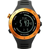[LAD WEATHER] Heart Rate Monitor Storm Alarm Altimeter Barometer Compass Running/ Hiking Outdoor Man's Watch