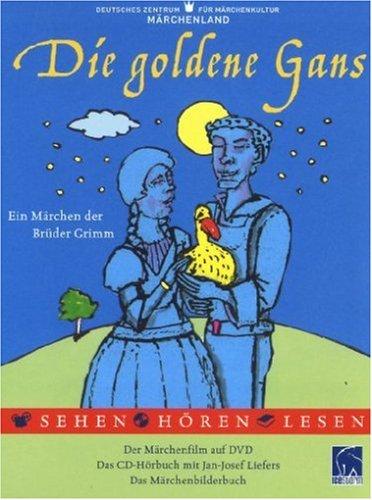 Die goldene Gans (DVD + Audio-CD + Buch) [Edizione: Germania]