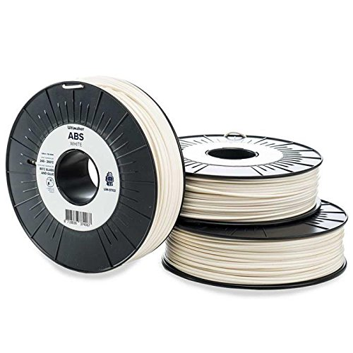 Ultimaker cartouche de filament abs – 2.85mm – blanc – 750 g