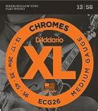 D'Addario ECG26 Set Corde Elettrica Chromes Flat Wound
