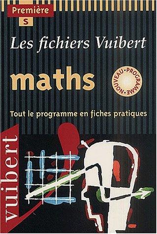 Fichier maths premiere serie S