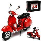 Schuco Vespa PX 125 Rot 1/10 Modell Motorrad mit individiuellem Wunschkennzeichen