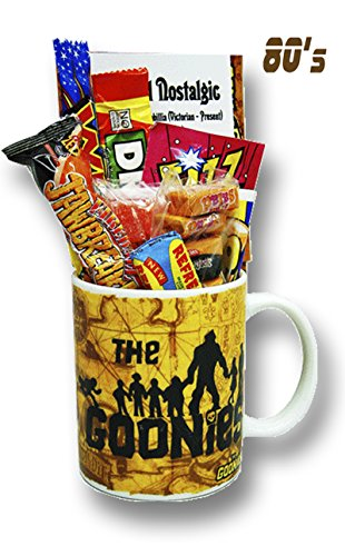 The Goonies Mug with 80s Retro Sweets - 2 gifts in one!