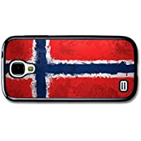 Norwegian Flag Norway Norske Flagg carcasa de Samsung Galaxy S4 mini A2784
