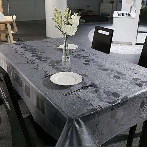 Unimall Mantel de Mesa, Material Vinilo/PVC Mantel rectangular antimanchas y humedad, cubreesa de 137 x 180cm Tela Impermeable cubremesa Para de Hogar Picnic del Hotel Tienda De Café
