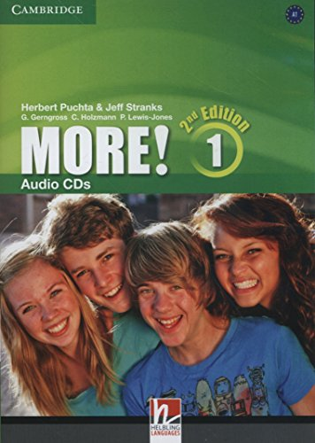 More! Level 1 Audio CDs (3) Second Edition - 9781107691551